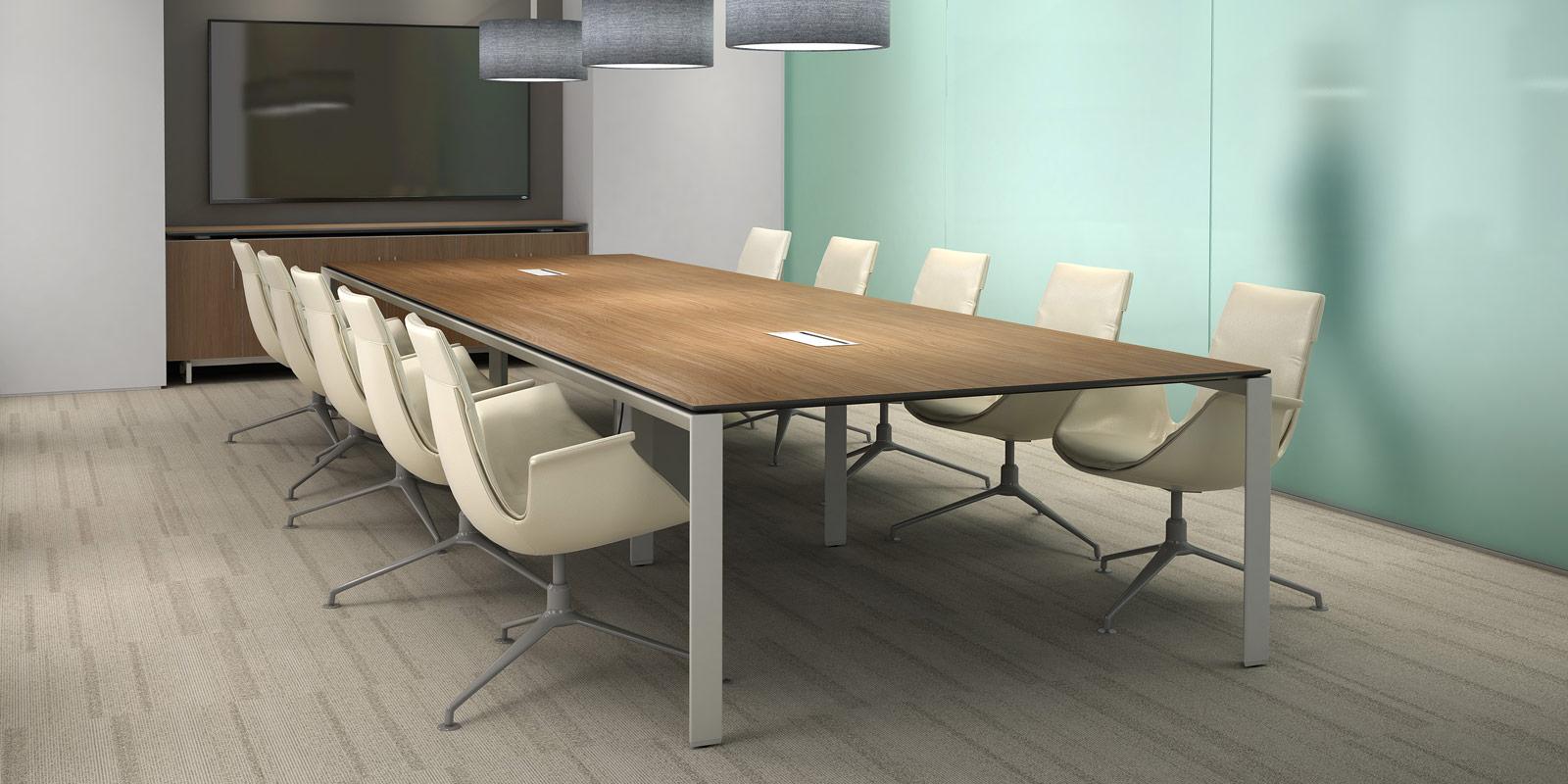 Toplantı Masası Gömme Priz Kutusu