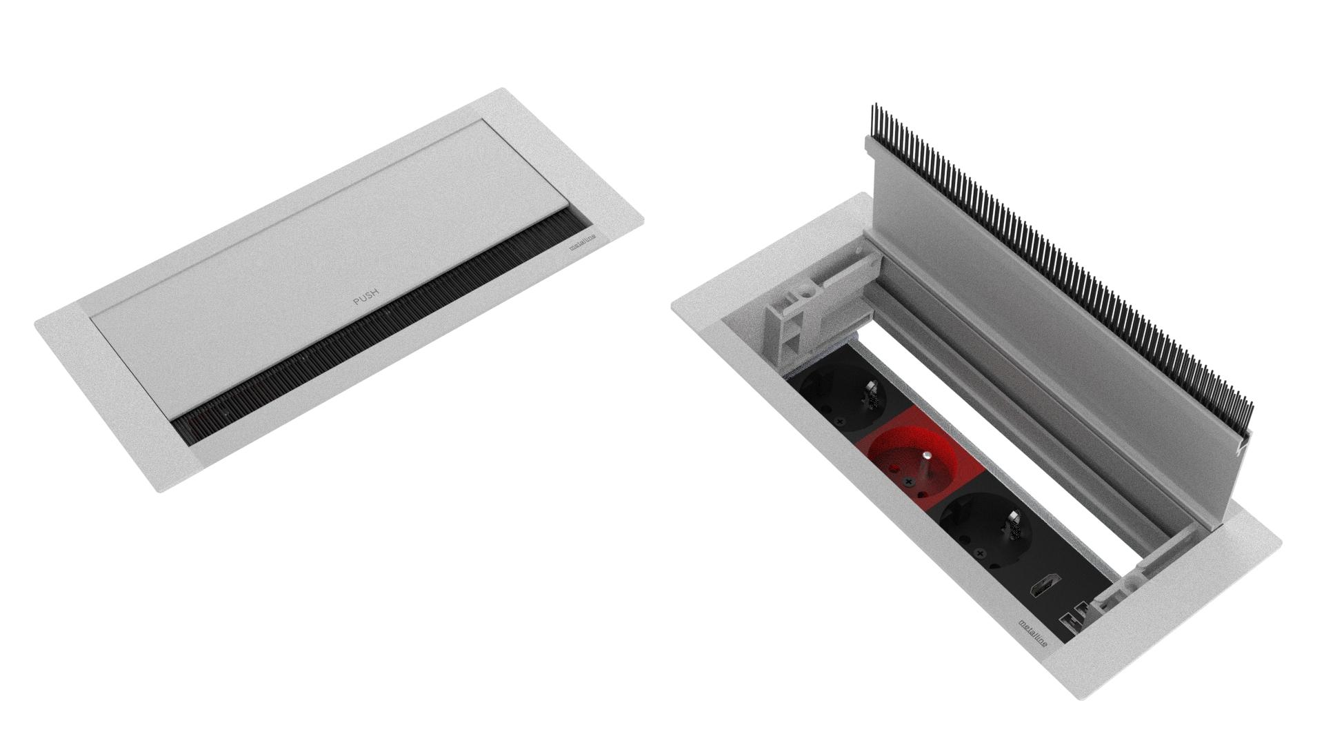 Bas-Aç Priz Sistemleri MET-BA-01