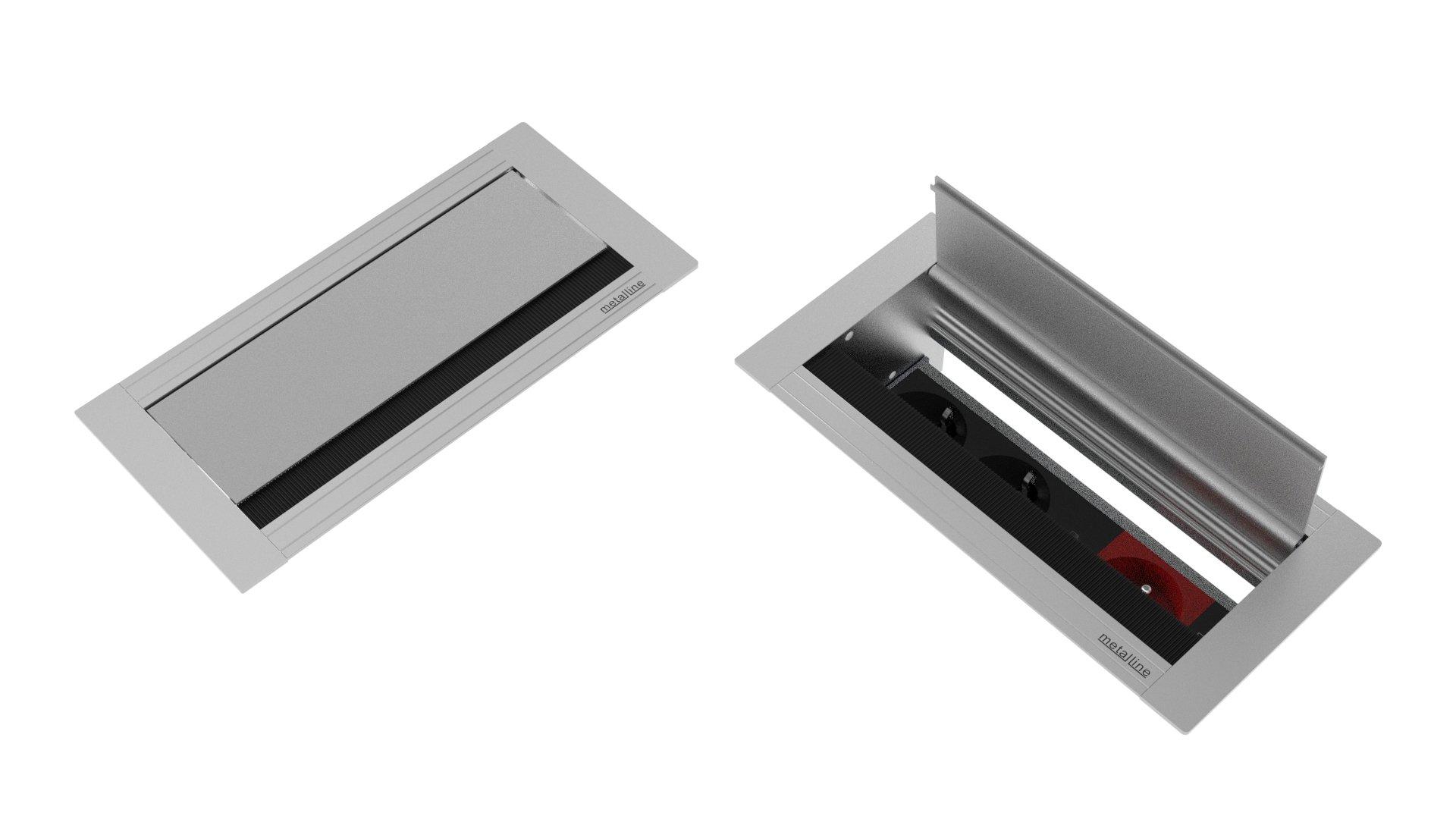 Fırçalı Priz Sistemleri MET-X-03-DL-02