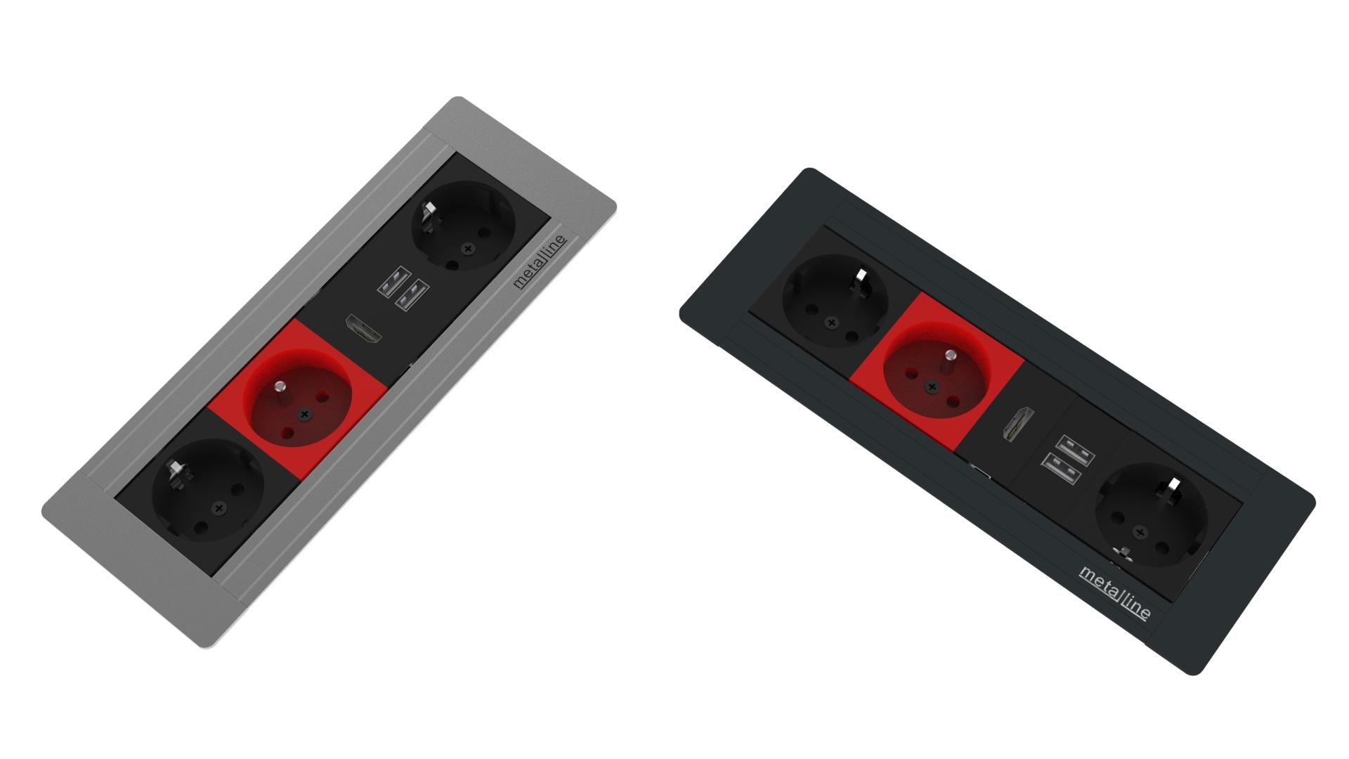 Gömme Priz Sistemleri MET-X-05