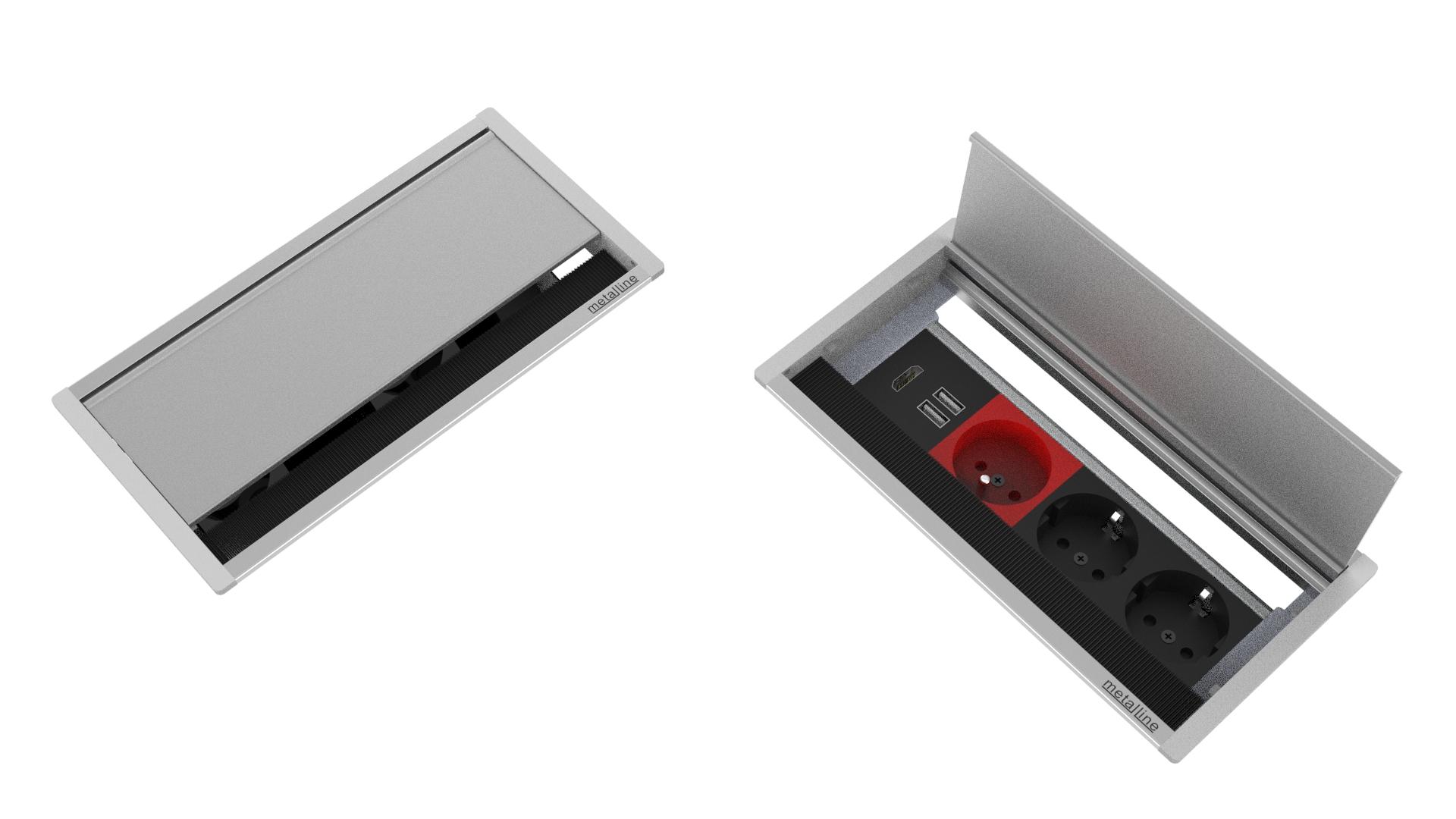 Fırçalı Priz Sistemleri MET-X-11-P