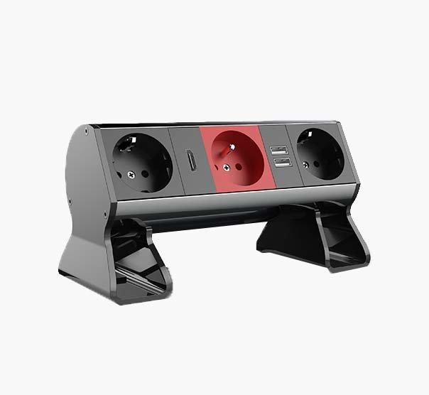 desk-top priz sistemi